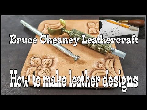 How to make leather designs - Leather craft ideas