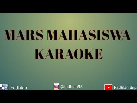 MARS MAHASISWA - KARAOKE