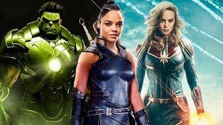 ¿Como derrotará Capitana Marvel a THANOS? ¿HULK con ARMADURA? ¿Donde está VALKIRIA?...