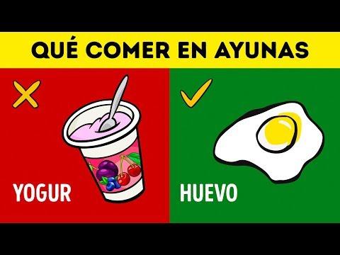 20 Alimentos para comer y evitar con el estómago vacío