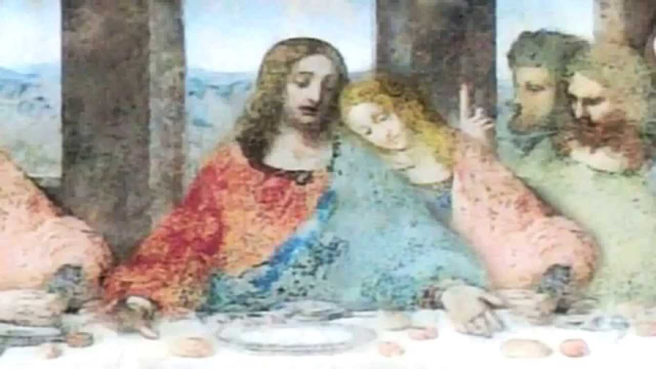 Jesus Was Married To The Virgin Mary Magdalene - YouTube Da Vinci Paintings