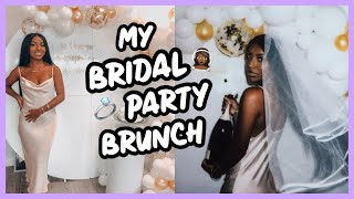 MY BRIDAL PARTY BRUNCH!!