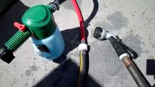 Rinsing out and flushing Yamaha Jet Boats