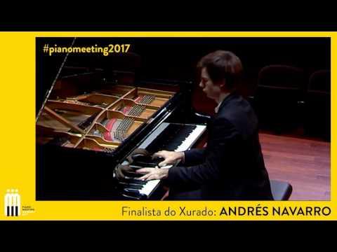 Andrés Navarro - Finalist Piano Meeting 2017
