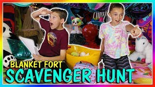 Kayla and Tyler compete to see who can find the most items in the b...