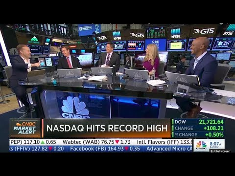 Jason Calacanis CNBC SquawkAlley 7/26: NASDAQ, AI & jobs, Elon v. Zuck, FB Google & ROI & video wars