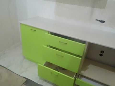 Кухня Зелёная Галька