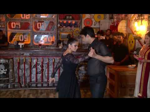 Actor Amit Dolawat & Actress Maria Goretti Dancing Bollywood