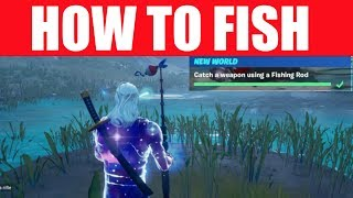 "How to ""Catch a Weapon Using a Fishing Rod"" Fortnite challenge guide (Season 11)"