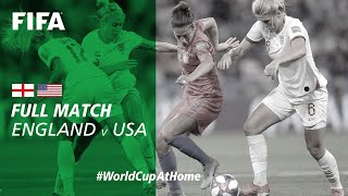 #WorldCupAtHome | England vs USA (France 2019)