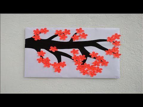 Beautiful handmade wall decoration ideas|| wall hanging|| paper crafts ideas