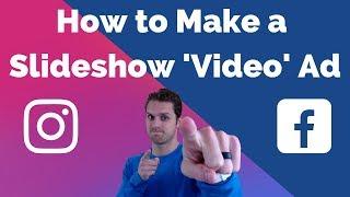 Wie Erstellen Sie Facebook-Diashow-Video-Ad für Facebook und Instagram Geschichte Anzeigen
