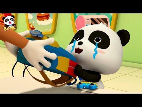 Kiki No Puede Conseguir Su Mochila | Dibujos Animados Infantiles | Kiki Y Sus Amigos | BabyBus