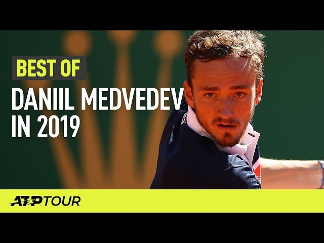 Daniil Medvedev's Best ATP Shots in 2019 | ATP