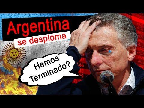 🔥 CRISIS ECONOMICA ARGENTINA 2019 💰 BOLSA DE VALORES SE DERRUMBA TRAS DERROTA DE MACRI  ⚠🔥