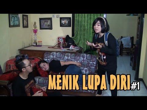 """AKSI LUCU MENIK JUNIOR DKK eps.1 """"MENIK LUPA DIRI part 1"""""""