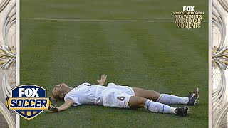16th Most Memorable Women's World Cup™ Moment: USA vs Germany 1999 | FOX SOCCER