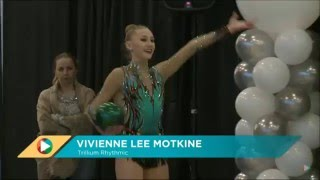 Vivienne Lee Motkine  Ball Senior FIG  2016 Rhythmic Gymnastics Elite Canada Championships