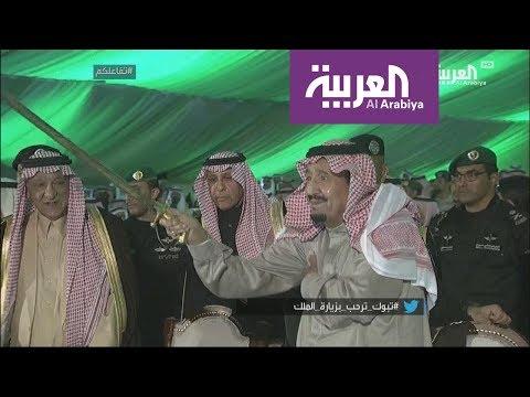 تفاعلكم | شاهد ترحيب أهالي تبوك بالملك سلمان  - نشر قبل 2 ساعة