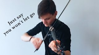 James Arthur - Say You Won't Let Go (Violin Cover by Caio Ferraz)