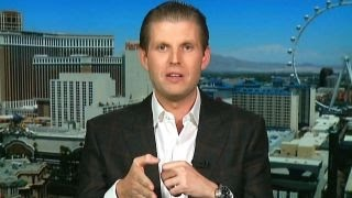 Does Eric Trump think his dad is the inevitable GOP nominee?