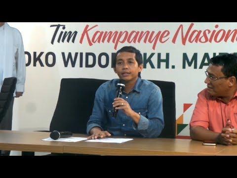 Kubu Jokowi: Politisi Sontoloyo Memanipulasi Data - 동영상