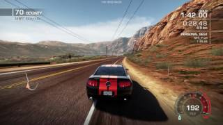 Ford Shelby GT500 - Sidewinder - Gold - Need For Speed Hot Pursuit 2010
