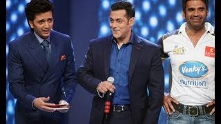 vuclip Celebrity Cricket League 2013: Salman khan unveils Mumbai Heroes