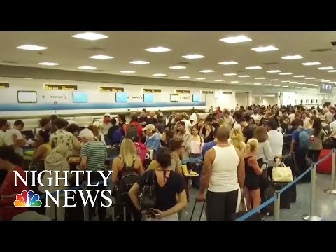 Irma: Travel Woes As Thousands Evacuate South Florida | NBC Nightly News