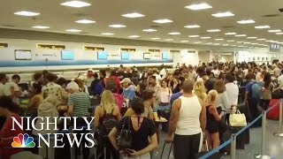 Irma  Travel Woes As Thousands Evacuate South Florida | NBC Nightly News