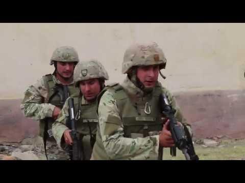 Agile Spirit 19 - Military Police QRF Training VAZIANI TRAINING AREA, GEORGIA 08.08.2019