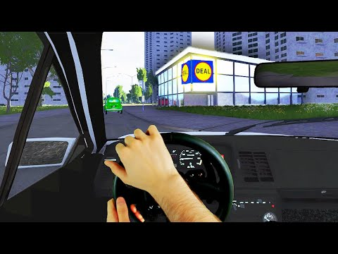 One Day in BeamNG.drive Traffic #2 🚦 Real Hands & Steering Wheel