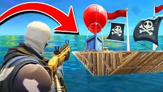 Building A PIRATE SHIP In Fortnite Battle Royale!