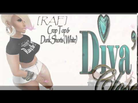 ..::Diva's Closet::.. Rude As FU*K collection (Secondlife VIdeo)