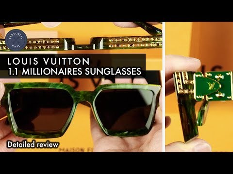 Louis Vuitton 1.1 Millionaires Virgil Abloh SS19 Sunglasses Review #LVMENSS19
