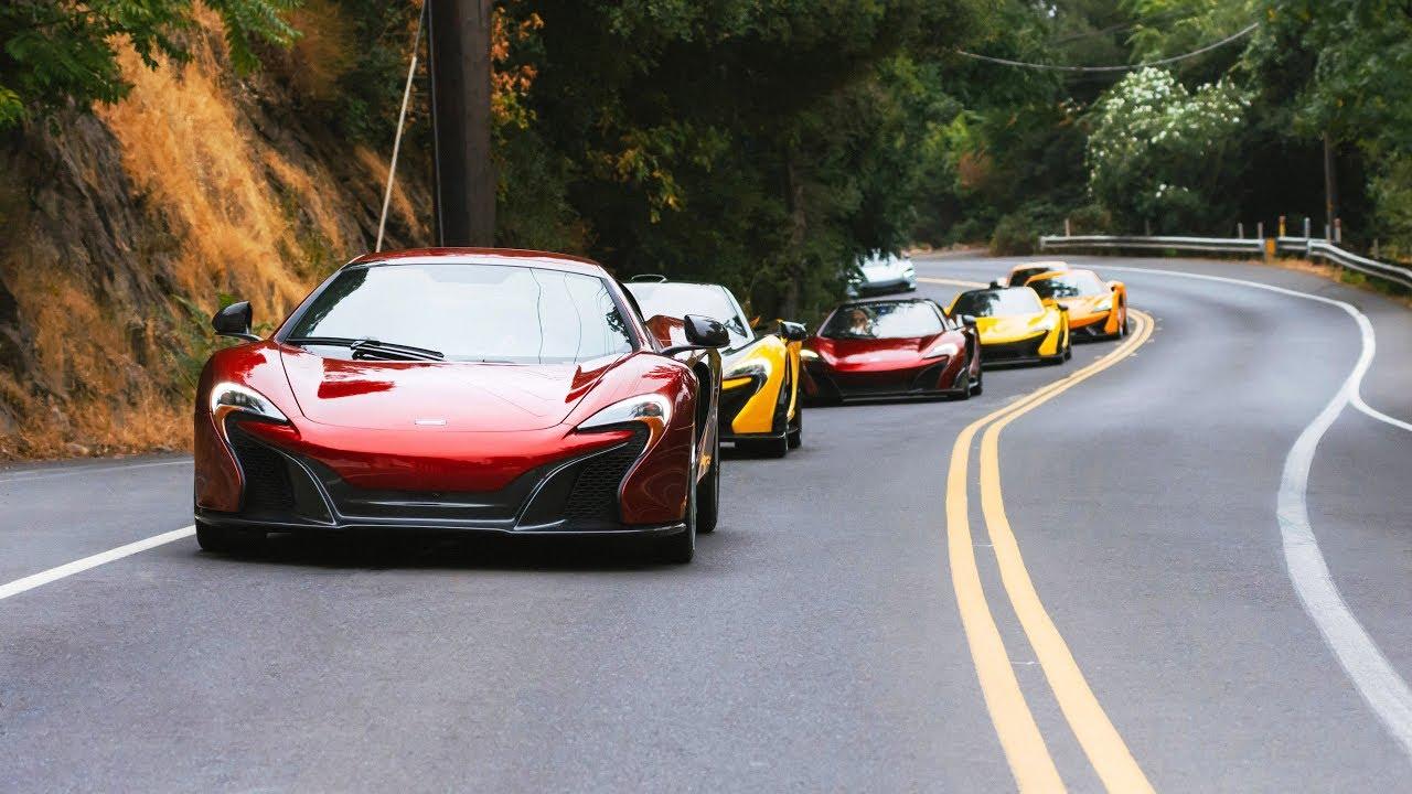 Rolling Thunder: The McLaren Pebble Beach Rally