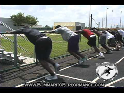 Fred Taylor Explosive NFL Off-Season Training - BommaritoPerformance.com