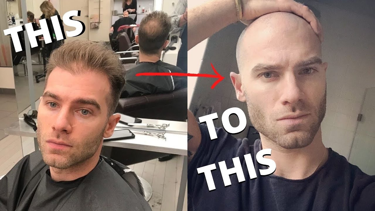 A when shave head man should his The Power