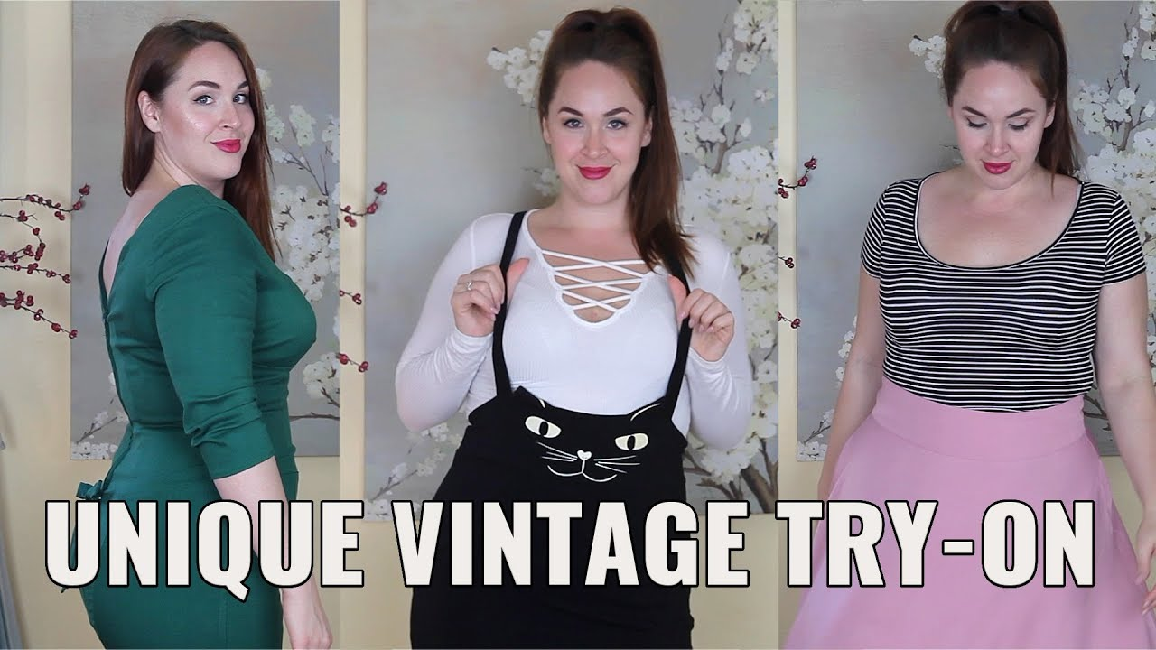 350866133b Unique Vintage Try-On [Review for Three Plus Size Looks] - YouTube