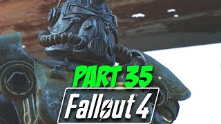 CROSS COUNTRY ADVENTURE - Fallout 4 Survival Mode   Part 35