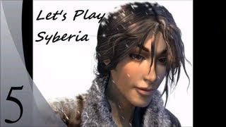 Let's Play Syberia (Blind) - Episode 5 - Voralberg's factory, Oscar the automaton