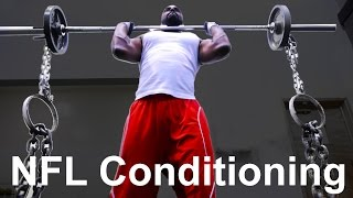 NFL CONDITIONING - Hardcore Off-Season Training Part 2 | D24 Sports thumbnail