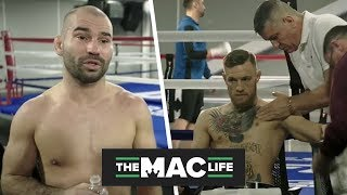 UNSEEN: Artem Lobov analyses Malignaggi's performance following Conor McGregor spar