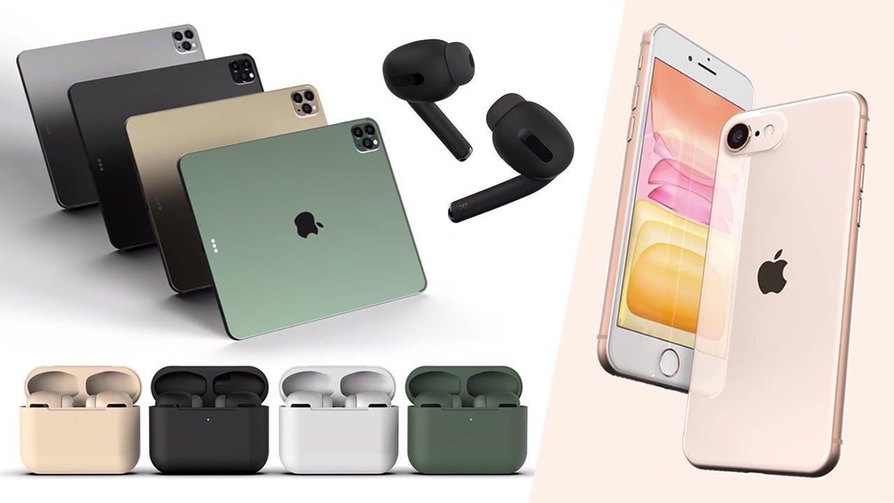 Iphone Se 2 Airpods Pro Ipad Pro 2020 Macbook Pro Leaks Youtube