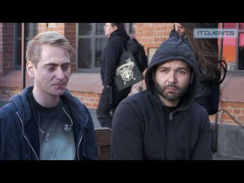 THE ALGORITHM - Interview 2017 (Haken Anniversary Tour)