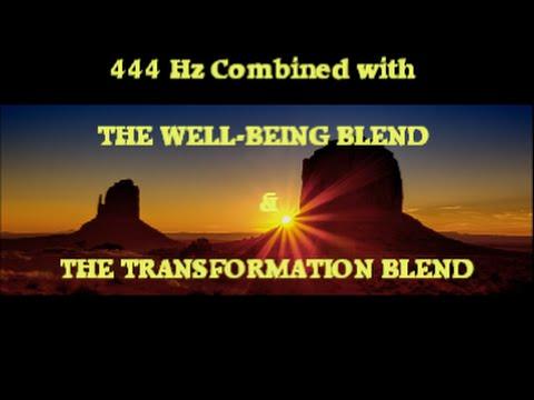 POWERFULL! 444 Hz 3WAY w WELLBEING & TRANSFORMATION BlendsMusic:Beyond Dissonance