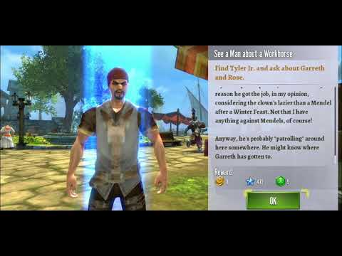 #1 Order And Chaos 2 Gameplay - MMO/RPG ( Mobile Game )