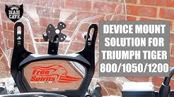New Triumph Tiger - A Sat Nav Mount solution for the 800/1200 and 1050 Sport