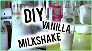 Diy Vanilla Milkshake | Jules Maluenda
