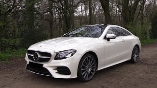 2018 Mercedes-Benz E Class Coupe E400 AMG Test Drive, In Depth Review Interior Exterior 2018